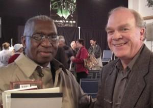 Pastor France Davis with Tom